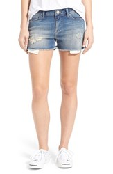 Women's Mavi Jeans 'Emily' Destroyed Cutoff Denim Shorts Online Only