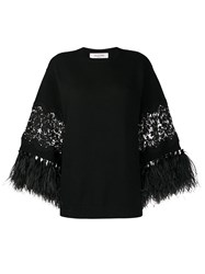 Valentino Feather Trimmed Jumper 60
