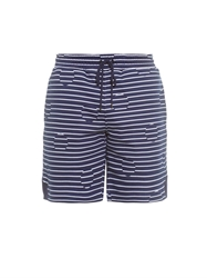 Kenzo Striped And Polka Dot Cotton Jersey Shorts