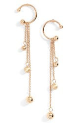 Rebecca Minkoff Women's Linear Drop Earrings Gold