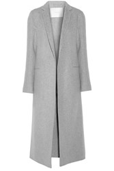 Adam By Adam Lippes Cashmere And Wool Blend Coat Gray