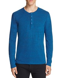 Goodlife Long Sleeve Henley Tee Classic Bl