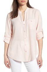 Kut From The Kloth Jasmine Top Dusty Pink
