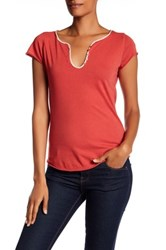 Zadig And Voltaire Tunisien Tee Red