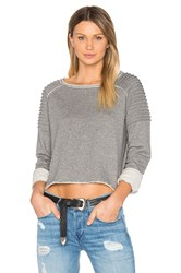 525 America Unfnished Edge Sweatshirt Gray