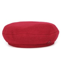 Maison Michel New Billy Wool Beret Red