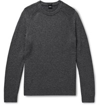 Hugo Boss Banilo Cashmere Sweater Gray