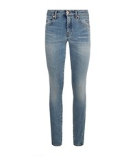 Roberto Cavalli Star Patch Skinny Jeans Female