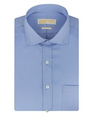 Michael Michael Kors Regular Fit Non Iron Dress Shirt Blue