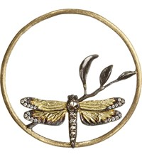 Annoushka Hoopla Dragonfly Diamond 18Ct Rose Gold Pendant
