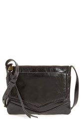 Hobo Amble Leather Crossbody Bag Black