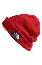 The North Face Men's 'Salty Dog' Beanie Red Tnf Red