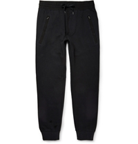 Acne Studios Johna Cotton Blend Jersey Sweatpants Black