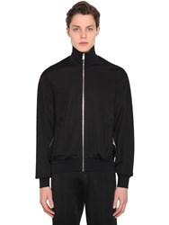 Versace Viscose Blend Jersey Track Jacket Array 0X572d6d8