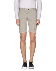 Bob Strollers Bob Trousers Bermuda Shorts Men Light Grey