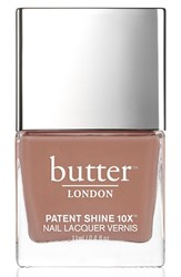 Butter London 'Patent Shine 10X' Nail Lacquer Tea Time
