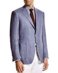 Canali Siena Textured Weave Classic Fit Sport Coat 100 Bloomingdale's Exclusive Blue