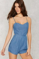 Keira Chambray Romper