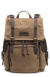 Men's Trask 'Bridger' Waxed Canvas Backpack