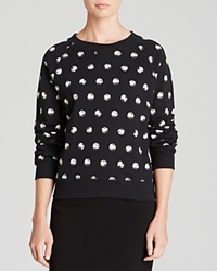 Moschino Cheap And Chic Moschino Cheap And Chic Sweatshirt Prehistoric Pearl Print