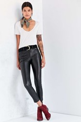 Bdg Twig High Rise Vegan Leather Pant Black