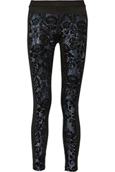 Just Cavalli Embellished Jersey Leggings