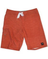 Rusty Grinda Sublimated 20' Board Shorts Orange