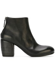 Marsell Marsa Ll Round Toe Ankle Boots Black