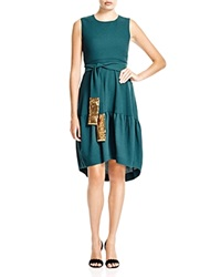 Hoss Intropia Sequin Detail High Low Dress Bloomingdale's Exclusive