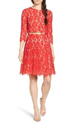 Everly Women's Lace Two Piece Dress