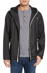 Cole Haan Men's Rubberized Hooded Jacket