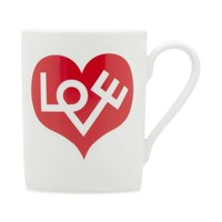 Vitra Alexander Girard 1971 Love Heart Mug Red