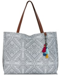 The Sak Vista Extra Large Tote Created For Macy's Shadow Palisades Print