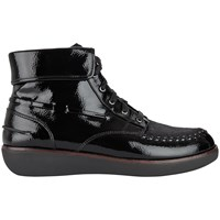 Fitflop Gianni Lace Up Ankle Boots Black