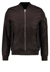 Your Turn Bomber Jacket Dark Brown