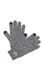 Kenzo Tiger Crest Texting Gloves Dark Grey