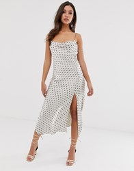 Bec And Bridge Spot Cami Midi Dress Multi