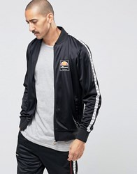 Ellesse Track Jacket With Taping Black