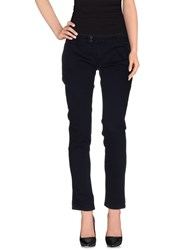 Duck Farm Trousers Casual Trousers Women Dark Blue