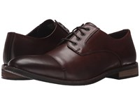 Nunn Bush Holt Cap Toe Oxford Brown Men's Shoes