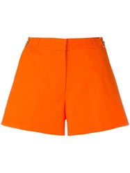 Michael Michael Kors Mid Rise Shorts Yellow Orange