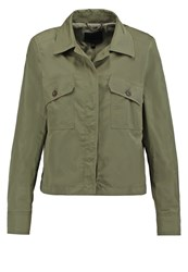 Banana Republic Summer Jacket Iguana Green Khaki
