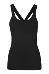 V Back Mesh Insert Vest By Ivy Park Black
