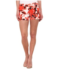 Michael Michael Kors Camouflage Rose Mini Shorts Sanibel Pink White Women's Shorts Multi