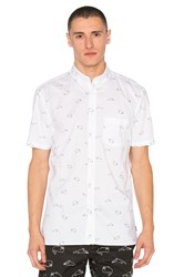 Barney Cools Whale Shirt White