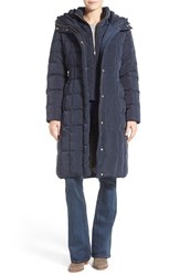 Cole Haan Signature Women's Cole Haan Bib Insert Down And Feather Fill Coat