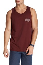Rip Curl Scoop Neck Graphic Print Tank Red