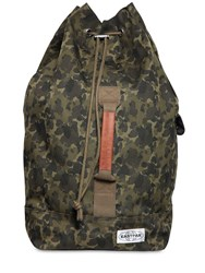 Eastpak 50L Plister Techno Canvas Backpack Army Camo