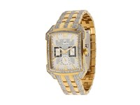 Bulova Mens Crystal 98C109 Gold Stainless Steel And Crystals Crystals White Chronograph Watches