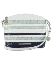 Brahmin Duxbury Vineyard Mini Crossbody Sea Glass